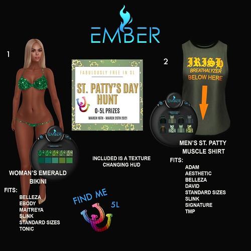 Ember - FabFree St. Patty's Day Hunt Key