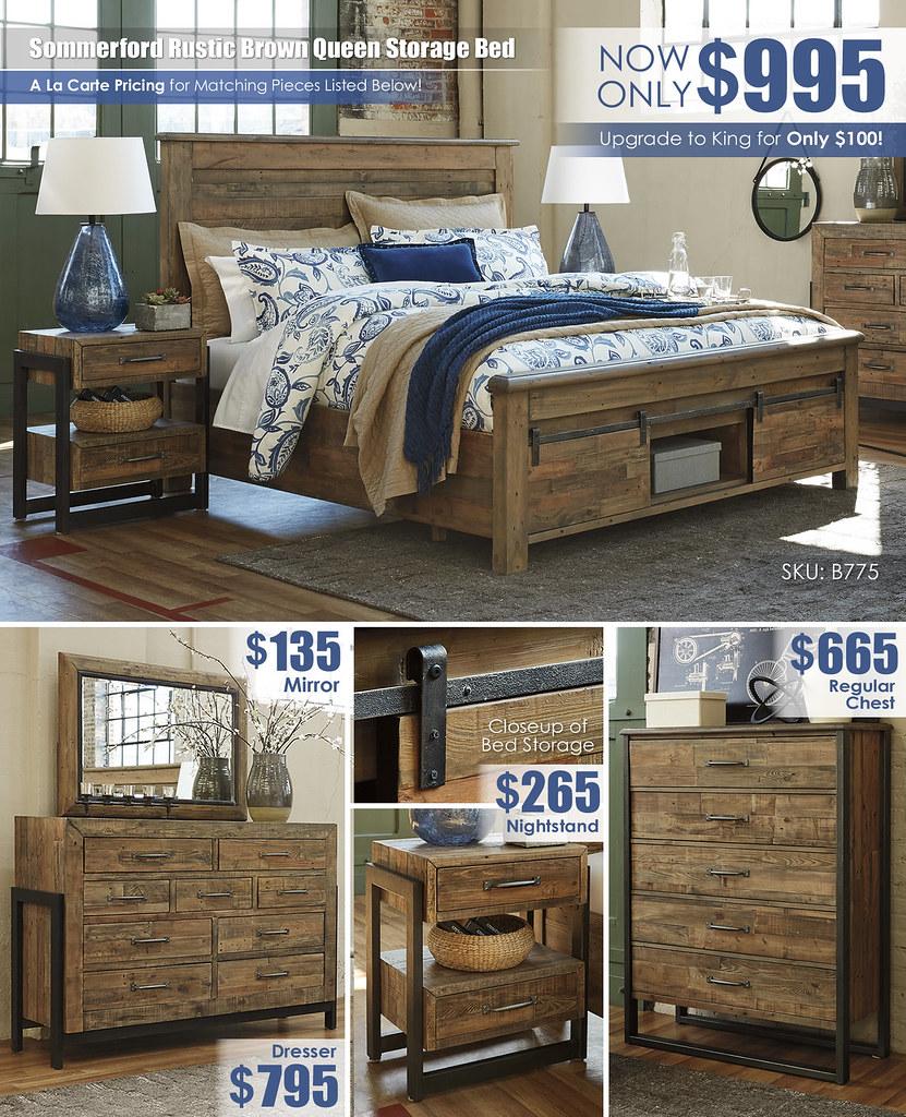 Sommerford Storage Bedroom A La Carte_B775