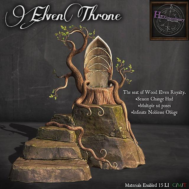 HEXtraordinary – Elven Throne – Wanderlust Weekend
