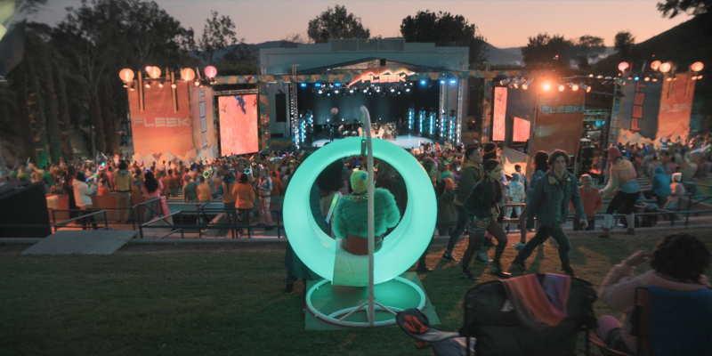 Fleek Fest stage park