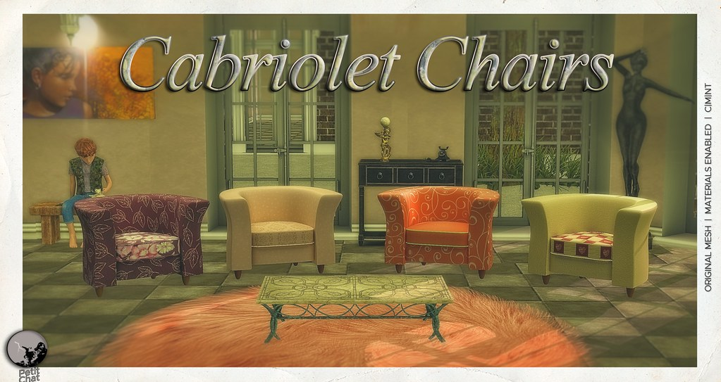 New release : Cabriolet Chairs @ Secret Sale Sundays