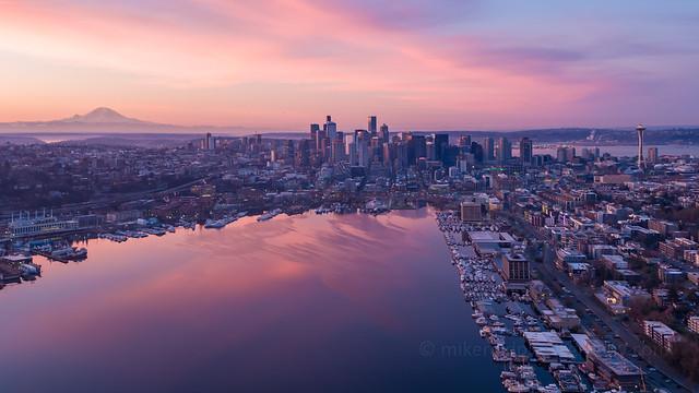 Seattle Sunrise Inspire 2 x5s