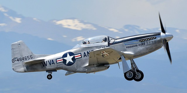 North American P-51D Mustang 0-484655 Toulouse Nuts N551CF
