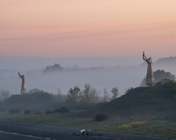 Tullamore By-pass statues