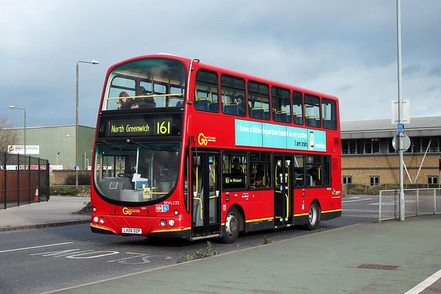 Route 161, Go Ahead London, WVL232, LX06DZP
