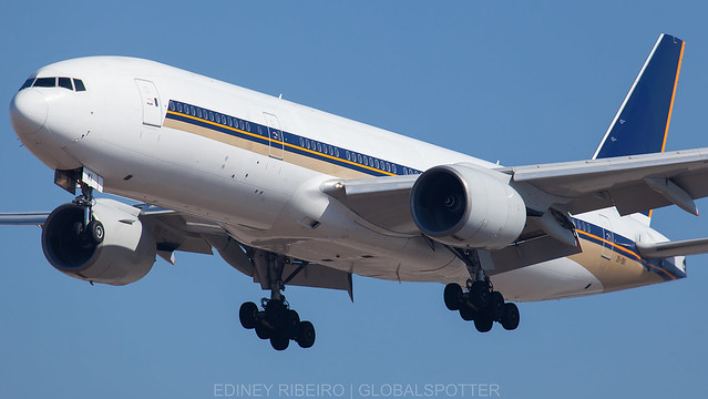 BOEING 777-200ER (ZK-OKI) BOEING COMPANY | LAX-KLAX