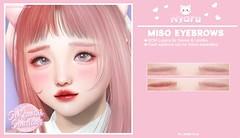 Nyaru - Miso Eyebrows for SoKawaii Sundays ♡