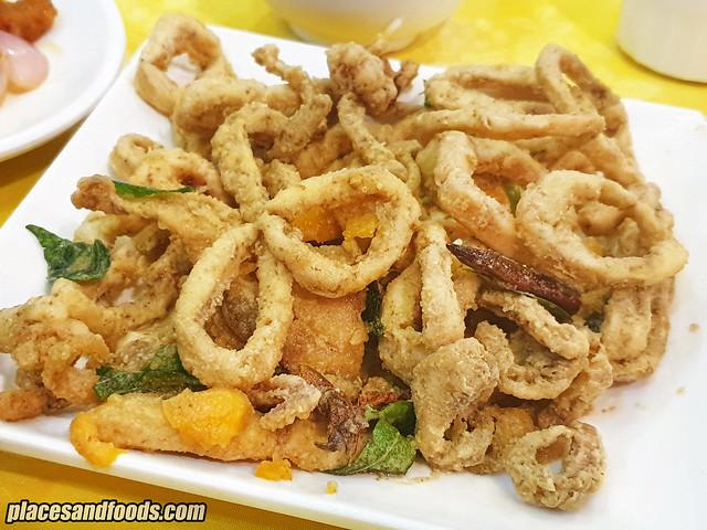 restoran yip sheng semenyih salted squid