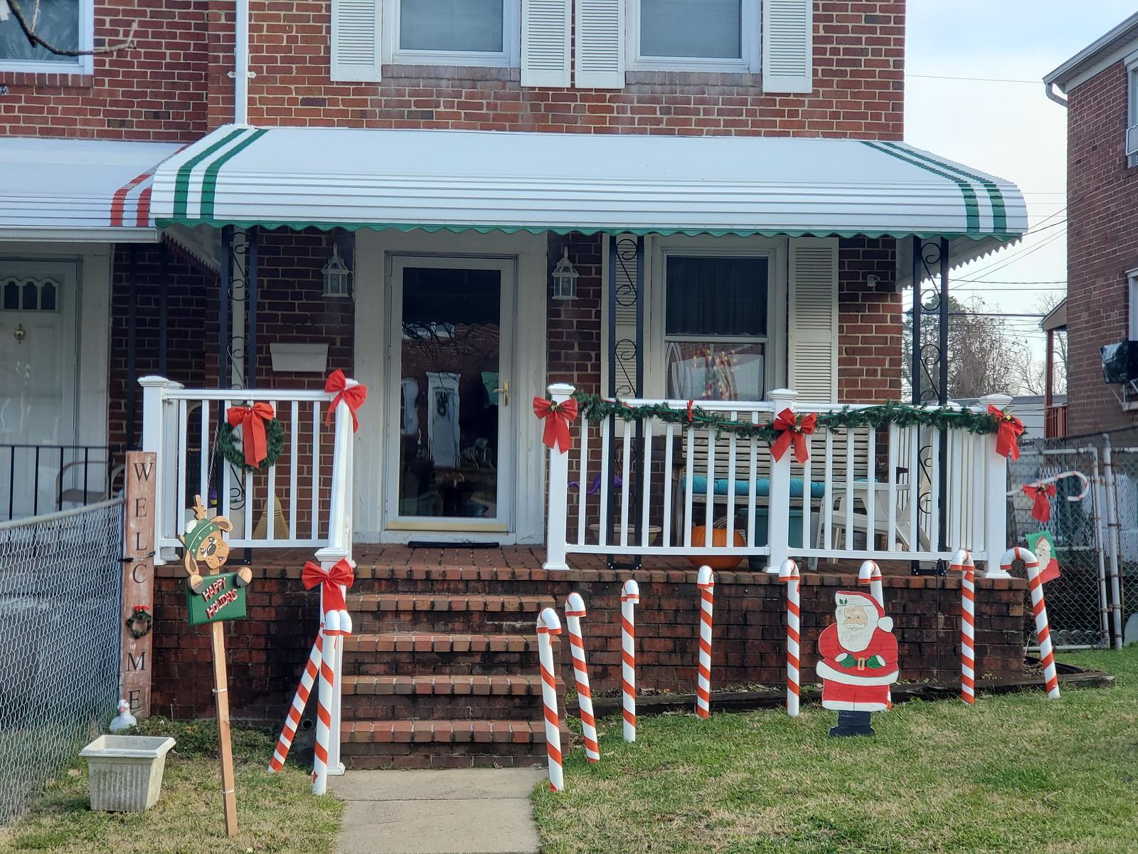 Aluminum Front Door Porch Awnings