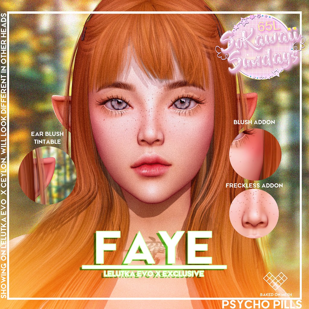 Faye Skin for Lelutka Evo X
