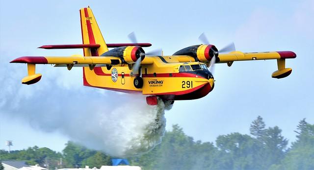 Canadair CL-215-1A10 Seaplane C-GBPD 291