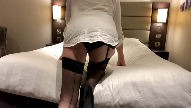 hotel whore on bed