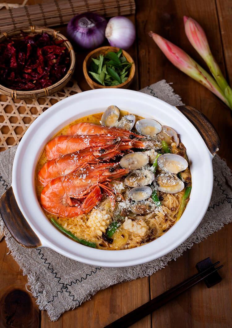 Malacca Golden King Prawn Seafood Bee Hoon