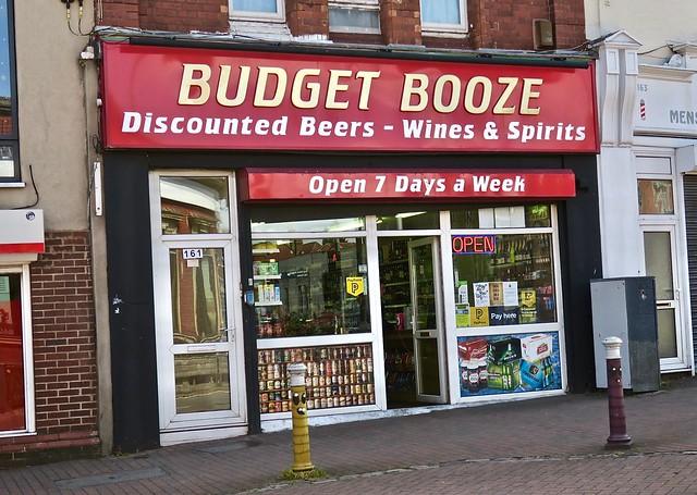 Budget Booze, Bristol, UK