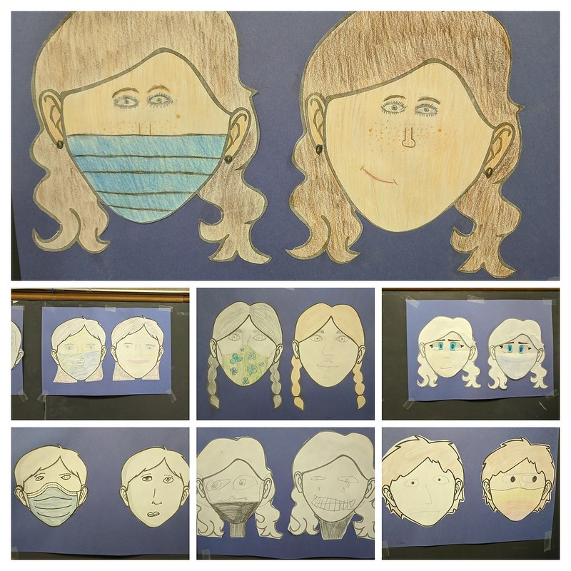 Classroom Face Collage
