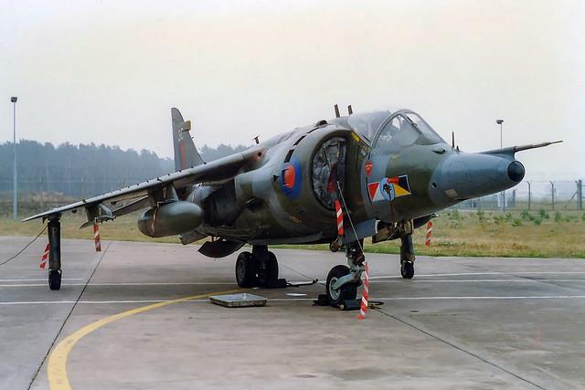 Harrier GR3 ZD670 '3C' 233 Operational Conversion Unit