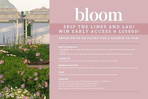 Win Early Access To Bloom!