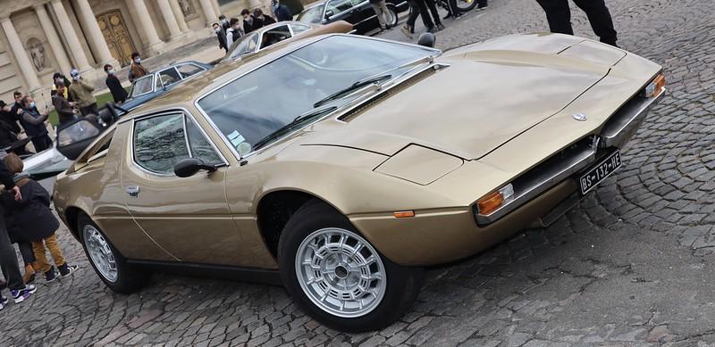 Maserati Merak SS Design Giorgetto Giugiaro 1975-1983 /  51035563473_c77fe03a8f_c
