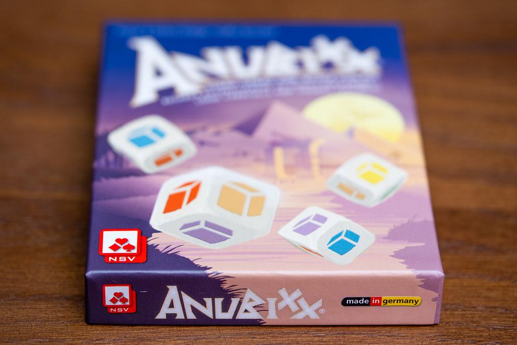 Anubixx boardgame juego de mesa