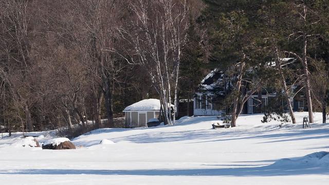 House along the Ottawa River