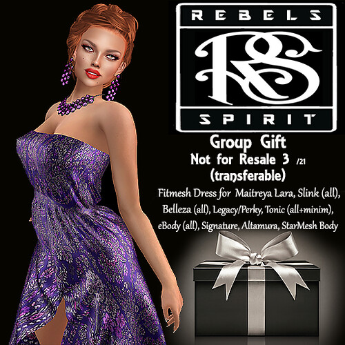 RebelsSpirit - Group Gift not for resale 3/21 (Transferable)