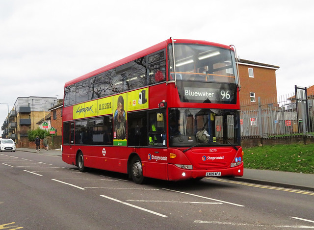SLN 15079 - LX909AFJ - WATLING STREET BEXLEYHEATH - SAT 6TH MAR 2021
