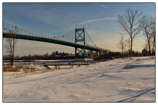 Winter  at the  Middlegrounds