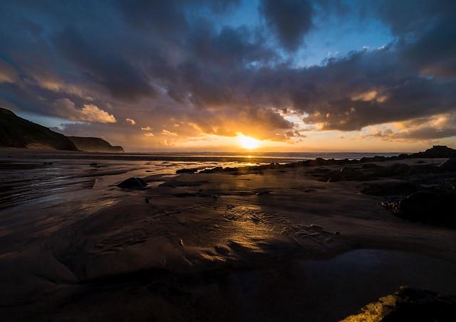 Sundown on the Westcoast