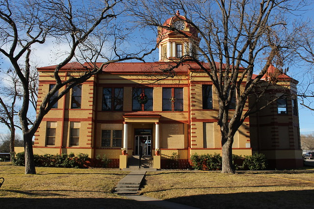 Kinney County Courthouse, Brackettville, TX