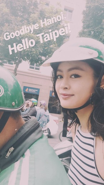 outlanderly post grab Vietnam Hanoi scooter memories