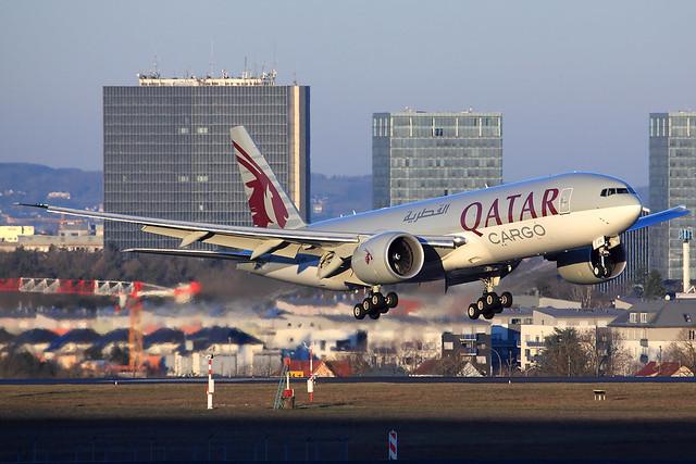 Qatar Airways Cargo  Boeing 777-FDZ A7-BFR