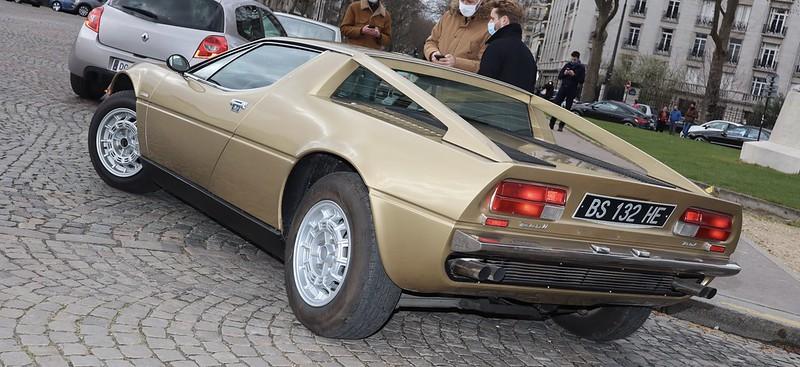 Maserati Merak SS Design Giorgetto Giugiaro 1975-1983 /  51036293256_e99f47d4ed_c
