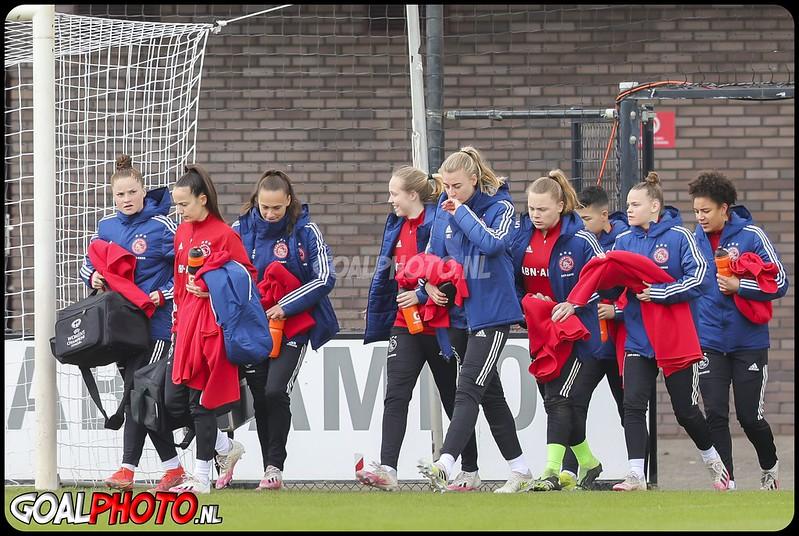 Ajax - PEC Zwolle vrouwen 14-03-2021