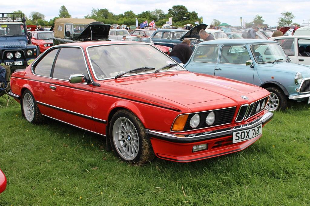 056 BMW 628CSi (E24) Coupe (1983) SOX 718 Y
