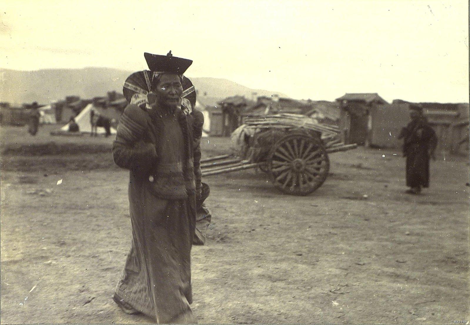 Монголка на базаре