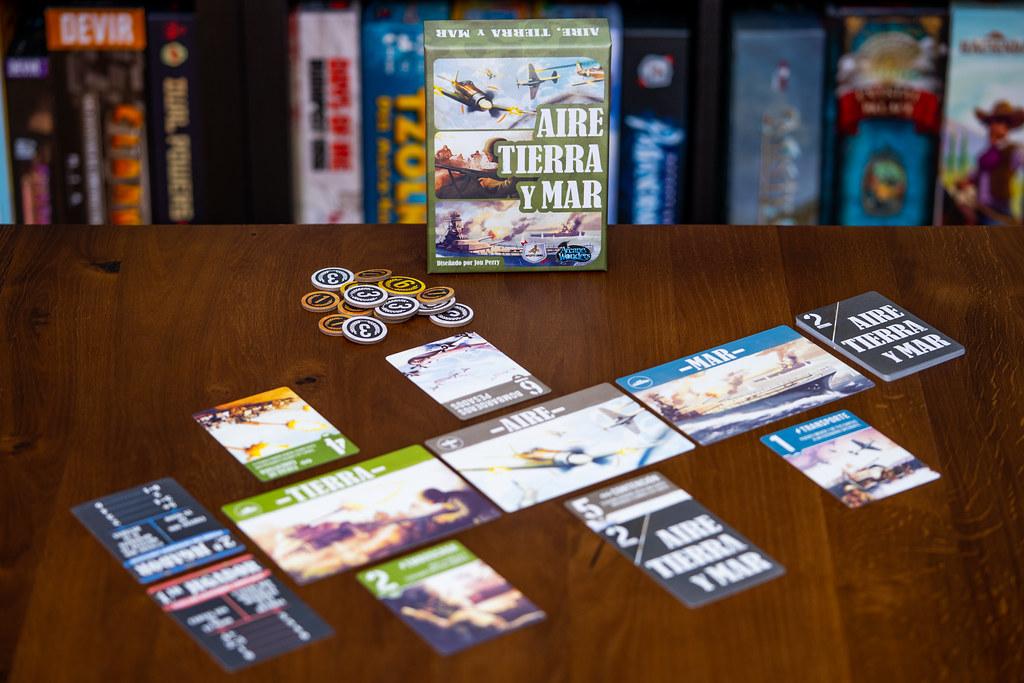 Aire, tierra y mar boardgame juego de mesa