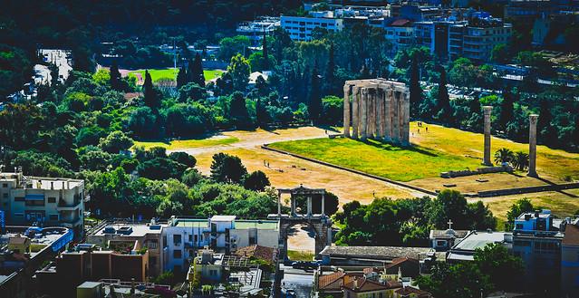 Temple of Olympian Zeus, Athens  オリュンピア・ゼウス神殿、アテネ