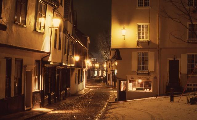 Elm Hill, Norwich flashback.