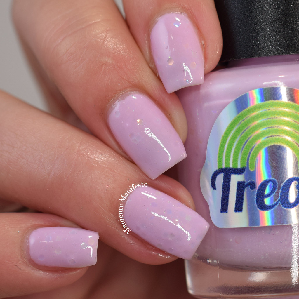 Treo Lacquer Pink Trees Please! review