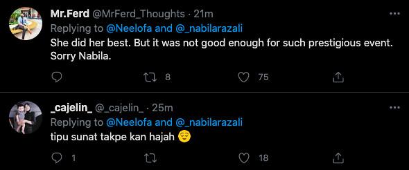 'You Did Well!' Neelofa Puji Nabila Razali Walaupun Dikecam Oleh Netizen Gara-Gara Terkucil