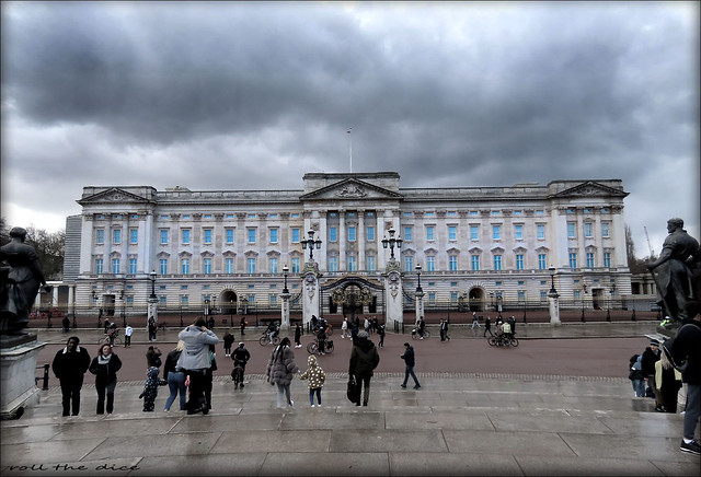 Dark Clouds Above Buckingham Palace...