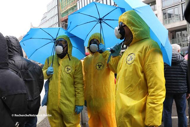 13.03.2021 Berlin: Verschwörungsideologische Kundgebungen gegen Verordnungen zur Bekämpfung der Pandemie