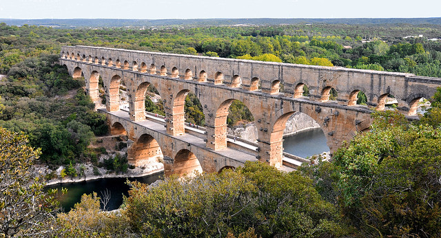 Roman Aqueduct, intact after 2000 years.