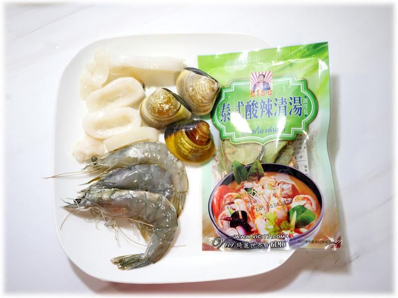 泰式海鮮湯001