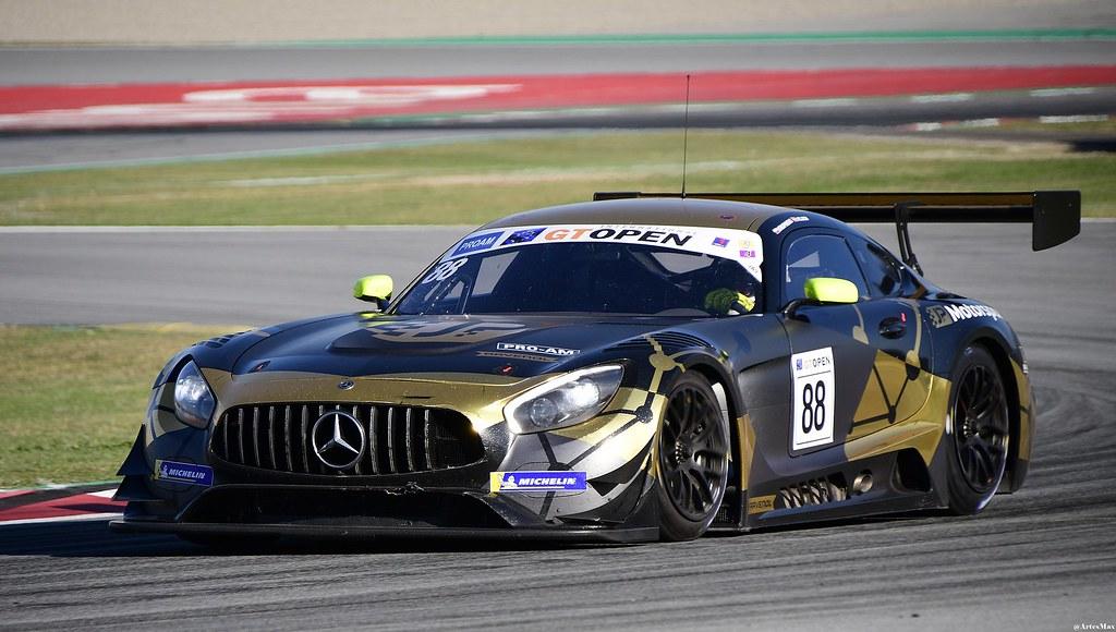 Mercedes AMG GT3 / Patryk Krupinski / POL / Christian Klien / AUT / JP Motorsport