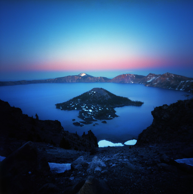 Crater Lake Evenings