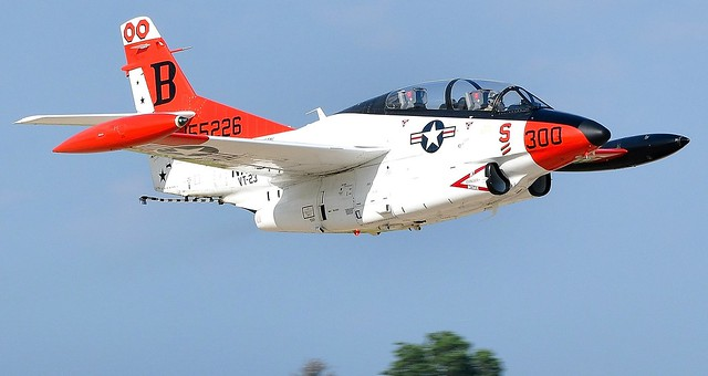 North American Rockwell T-2B Buckeye Jet USN VT-23 BuNo 155226 The Professionals N212TB