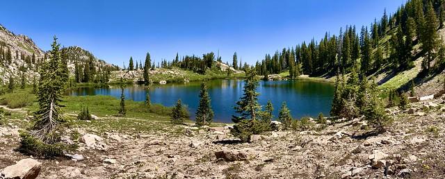 Mountain Lake near Salt Lake City