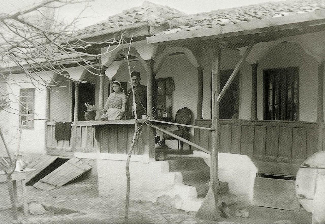 Дом в Бахчисарае. 1920
