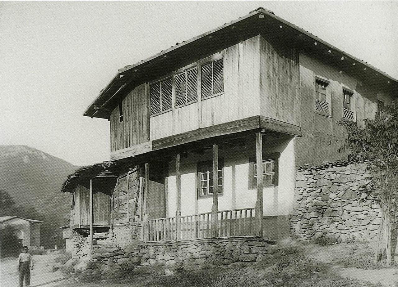 Деревенский дом. Юго-западный Крым. 1920